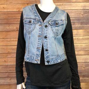 Levi's vintage 90's denim vest size large